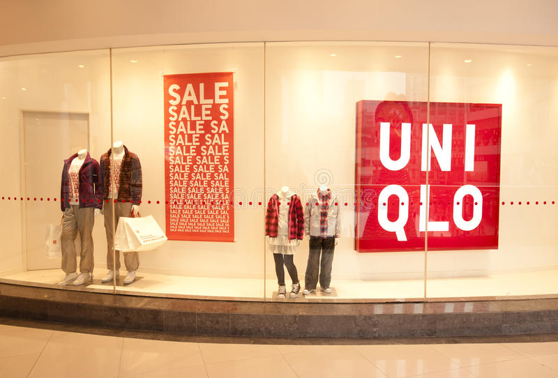 Download China: UNIQLO store editorial photography. Image of globalization - 17956892