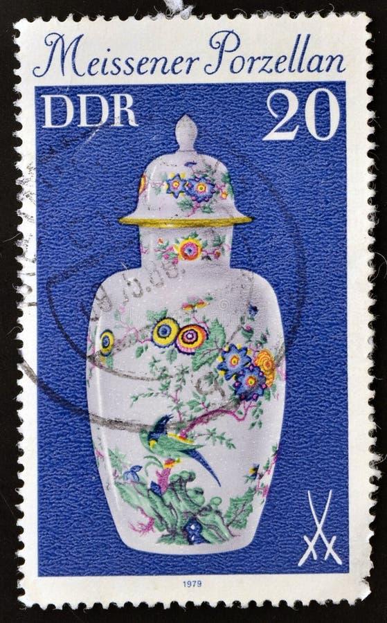 China-Vase Meissner stockbild