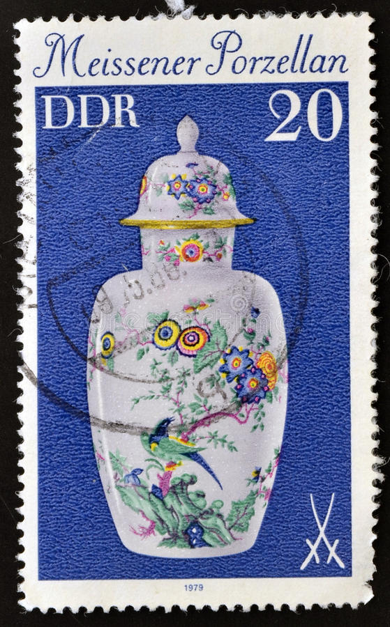 Free China Vase Meissner Stock Image - 26465041