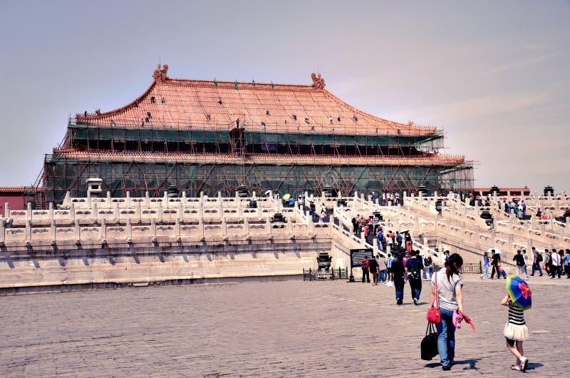 China - Verbotene Stadt stockfoto