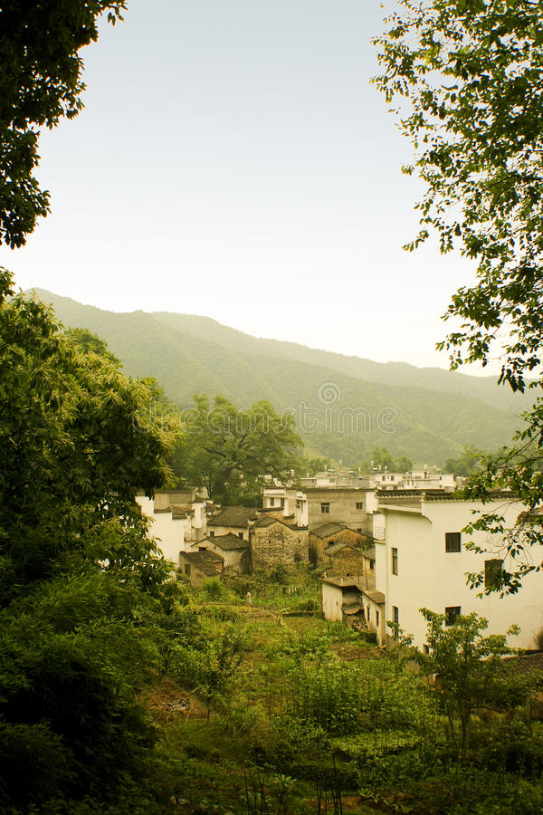 China, villages in the south, countryside landscap royalty free stock photography