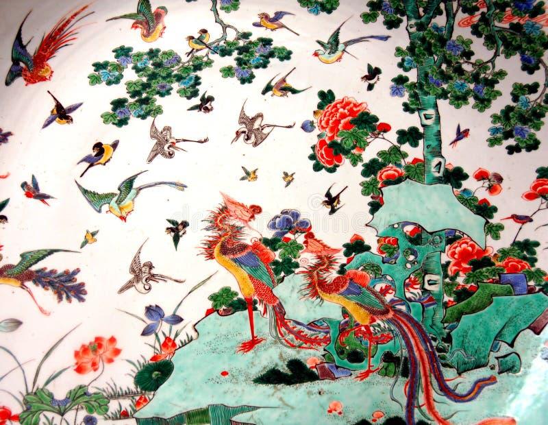 china ware royaltyfria bilder