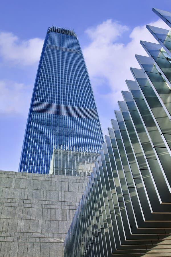 China-World Trade Center-Turm 3, Peking, China lizenzfreies stockbild
