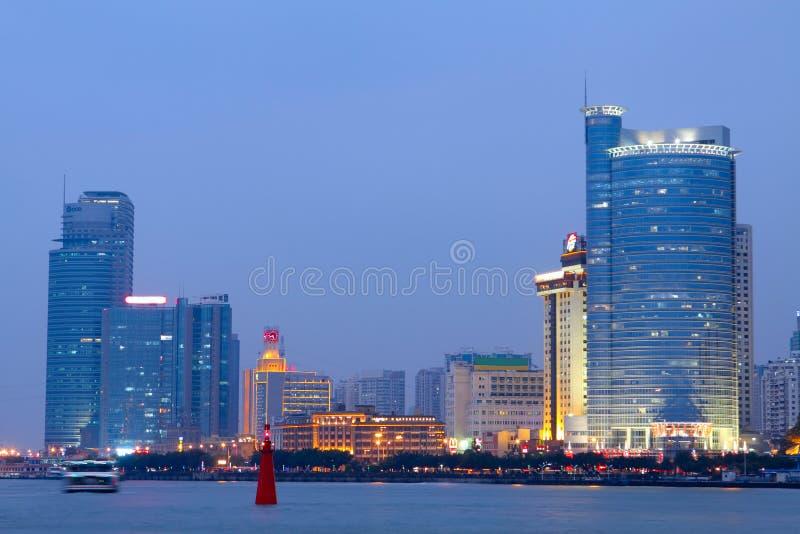 Download China Xiamen night view editorial photo. Image of illuminated - 22944471