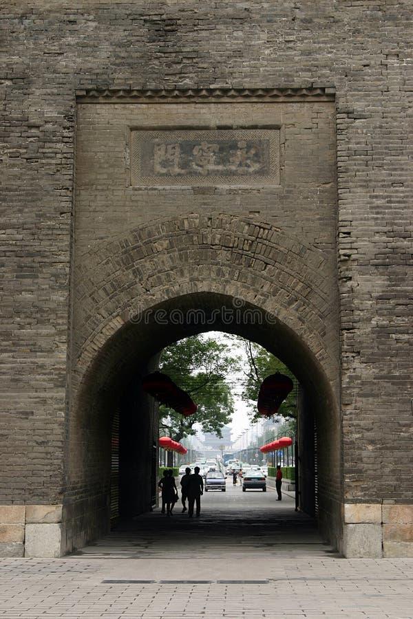 China Xian (Xi'an) City Wall royalty free stock photos