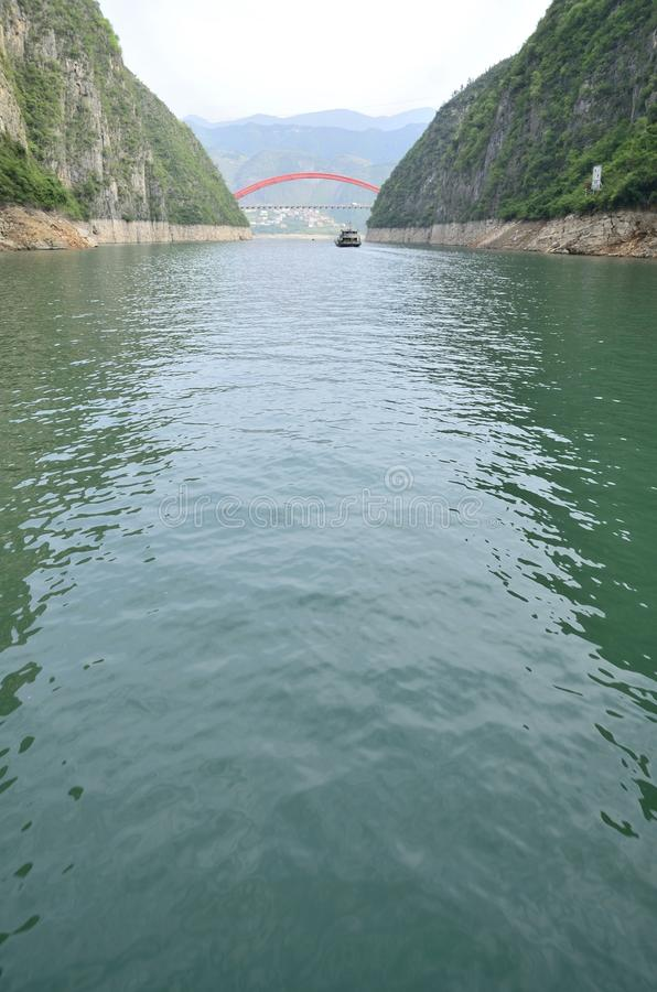 China Yangtze River Three Gorges scenic essence stock images