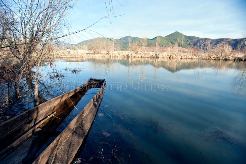 Download The China Yunnan Morning Lugu Lake Stock Image - Image: 29867125