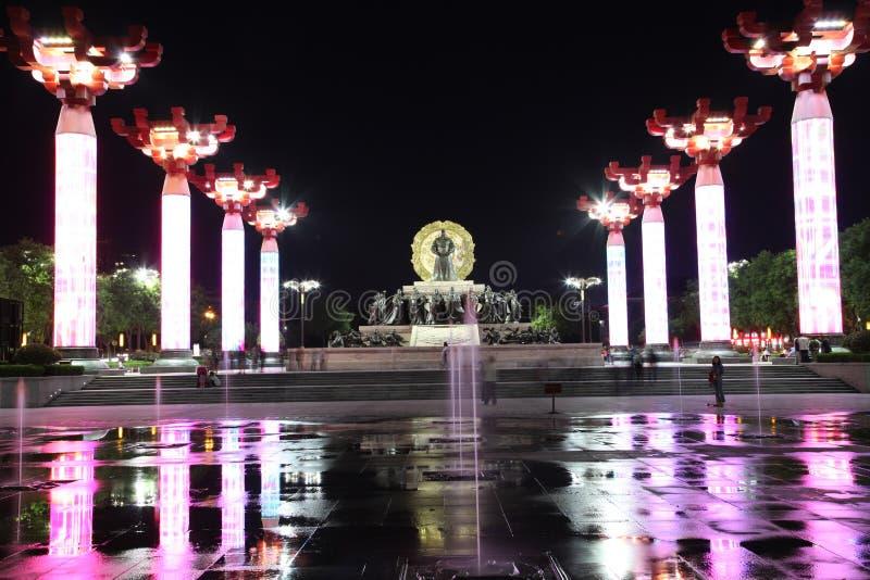 ` Chinas XI ein wildes Ganspagoden- und datang Stadtnaturschutzgebiet in Shaanxi-Provinz lizenzfreie stockfotos