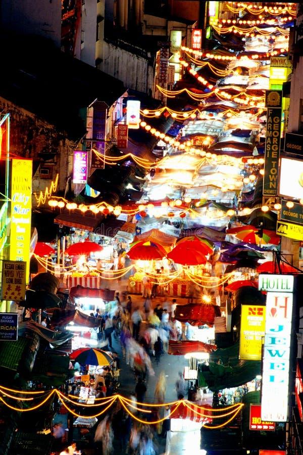 Chinatown ή γνωστός ως οδός Petaling στοκ φωτογραφία με δικαίωμα ελεύθερης χρήσης