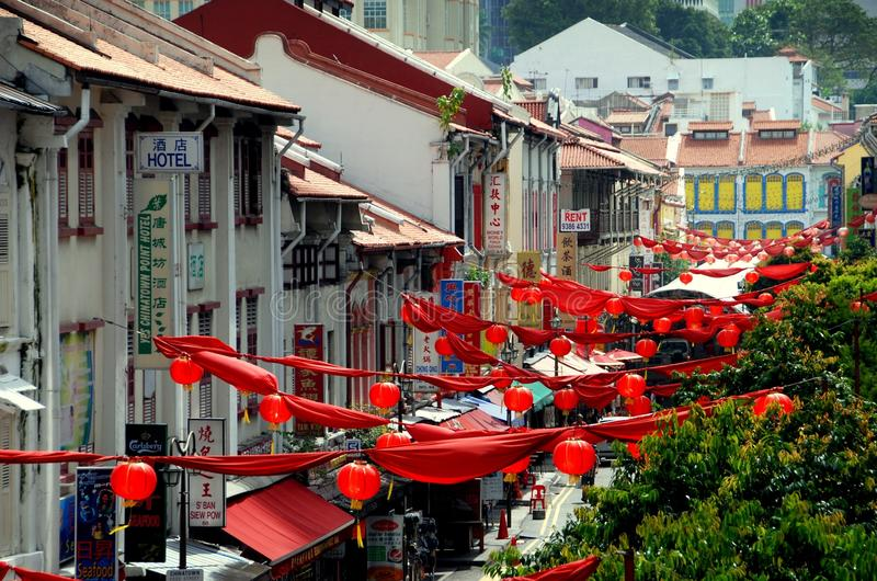 chinatown οδός του s Σινγκαπούρη Smith στοκ φωτογραφία με δικαίωμα ελεύθερης χρήσης