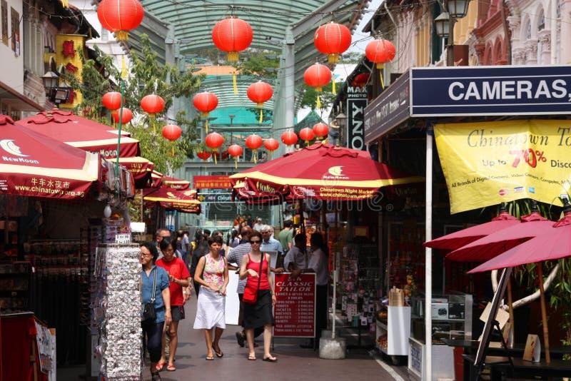 chinatown Σινγκαπούρη στοκ φωτογραφίες