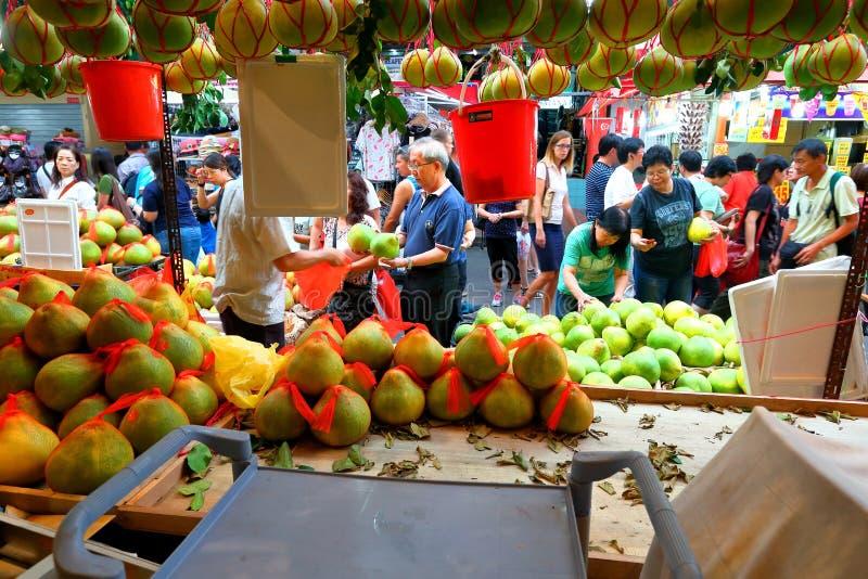 chinatown Σινγκαπούρη στοκ εικόνα με δικαίωμα ελεύθερης χρήσης