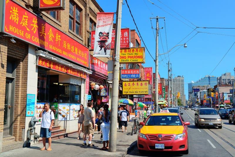 Chinatown Τορόντο στοκ εικόνα