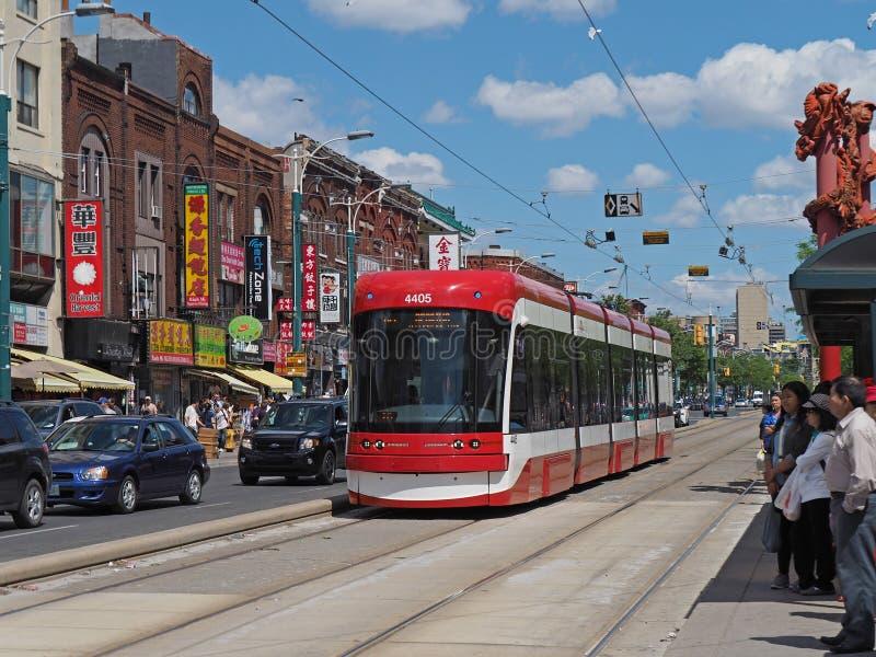 chinatown Τορόντο στοκ φωτογραφία με δικαίωμα ελεύθερης χρήσης
