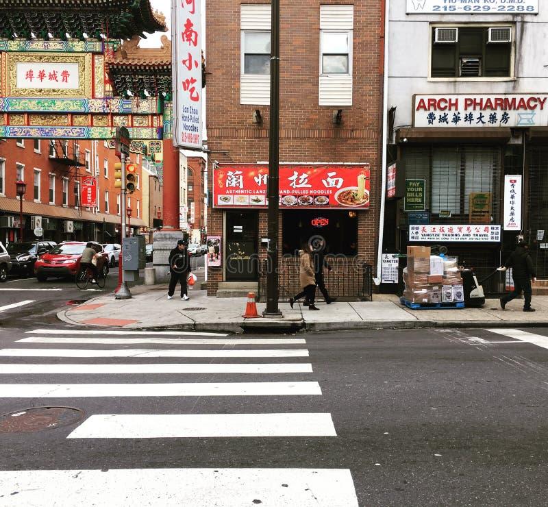 Chinatown, Φιλαδέλφεια, ΗΠΑ στοκ εικόνες