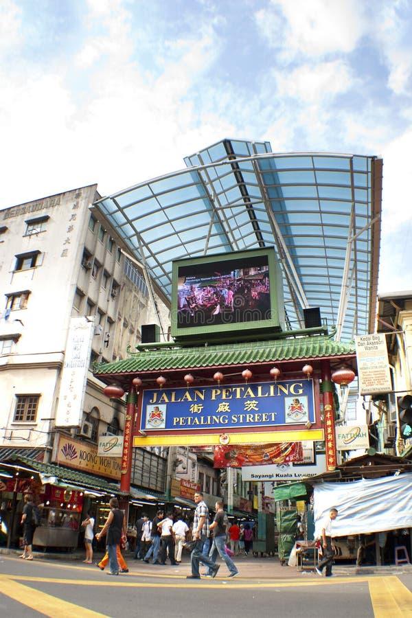 chinatown Куала Лумпур Малайзия petaling улица s стоковое изображение