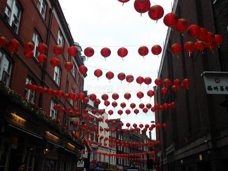 chinatown photographie stock