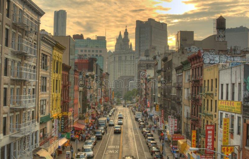 chinatown стоковая фотография