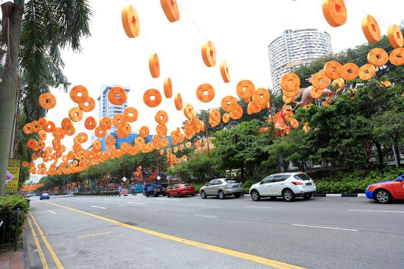 chinatown стоковая фотография rf