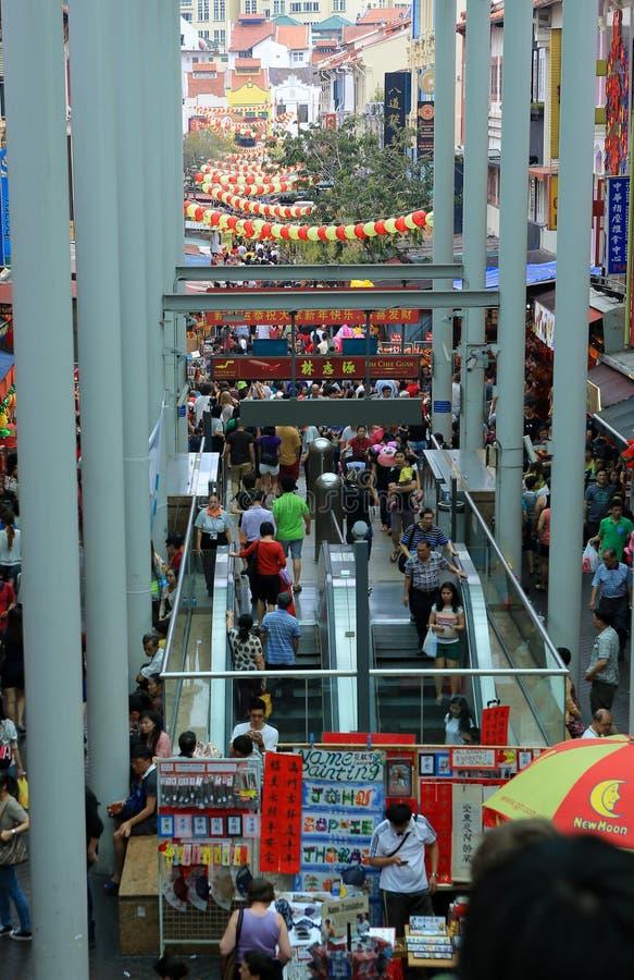 chinatown стоковое изображение rf
