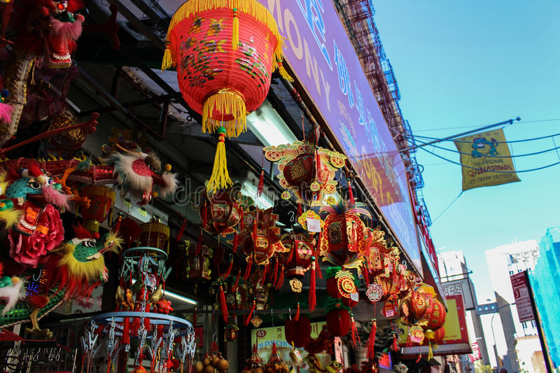 chinatown fotografia de stock royalty free