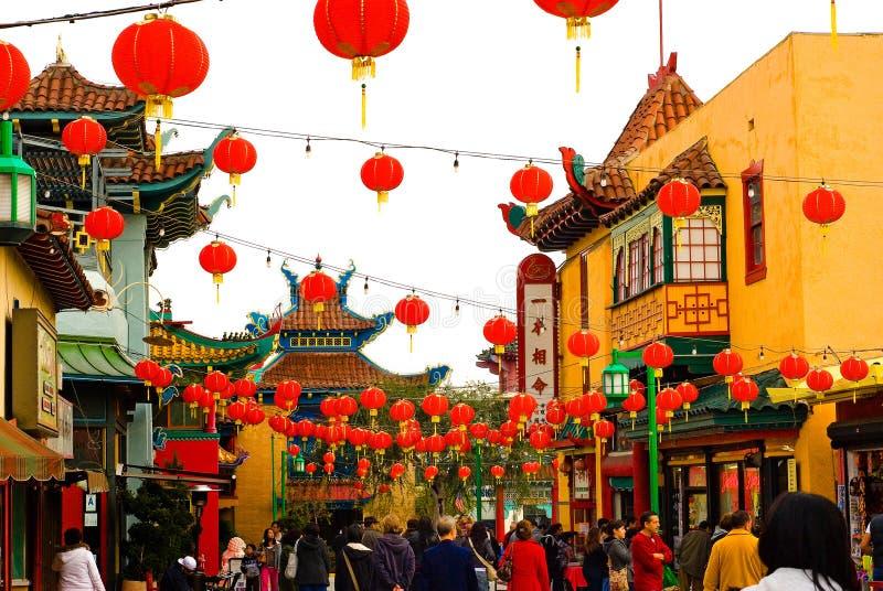 chinatown stock foto