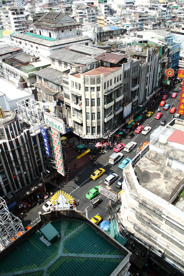 Download Chinatown in bangkok editorial stock photo. Image of downtown - 14901313