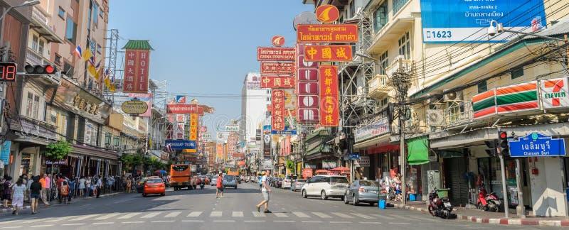 Chinatown in Bangkok, Thailand stockfotografie