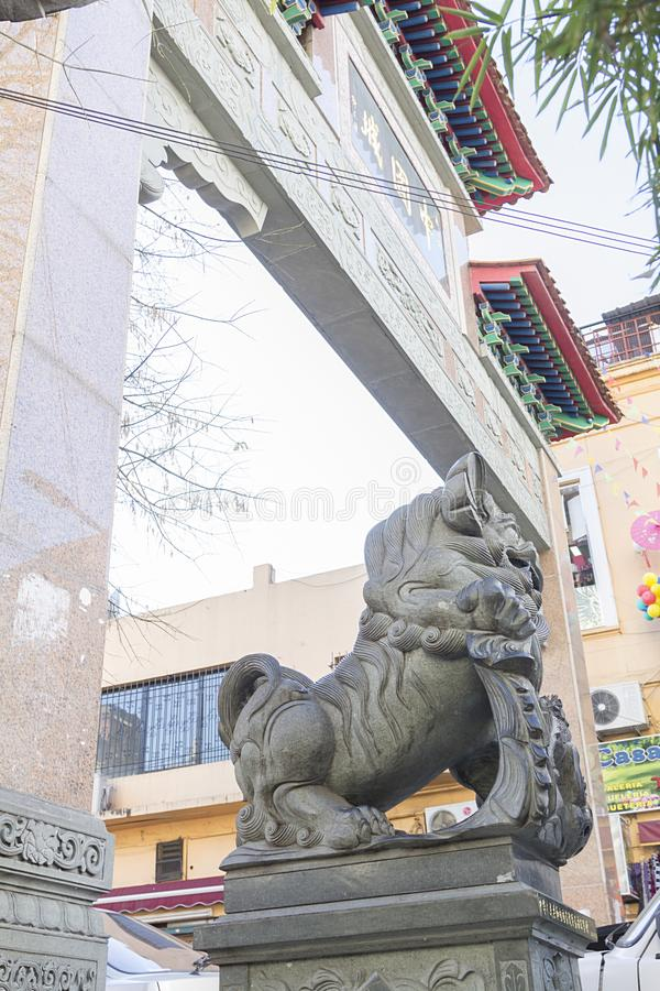 Chinatown Belgrano Buenos Aires Argentina South America cool stock photography