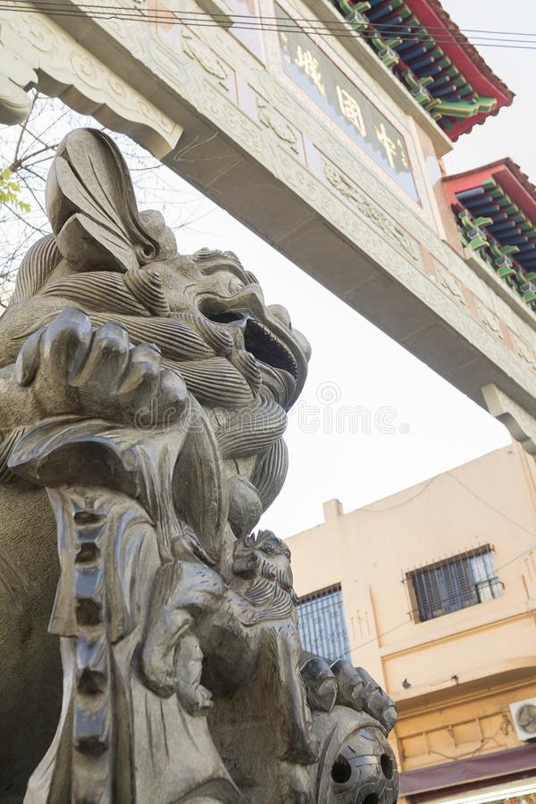 Chinatown Belgrano Buenos Aires Argentina South America. Cool royalty free stock image