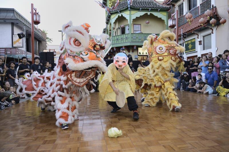 Chinatown celebration royalty free stock photo