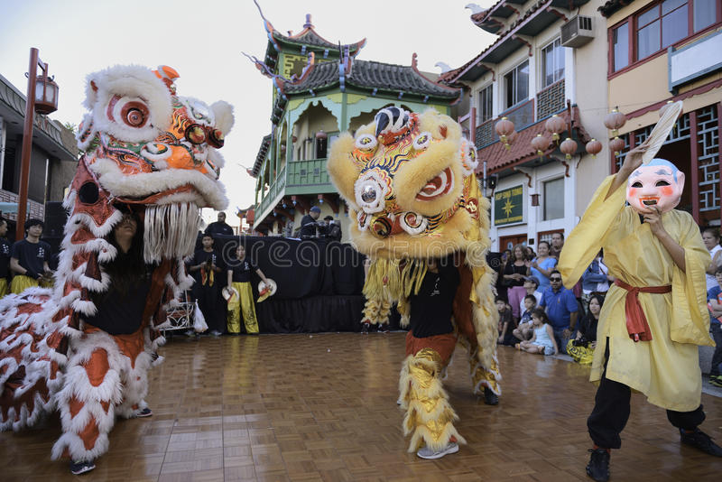 Chinatown celebration royalty free stock photos