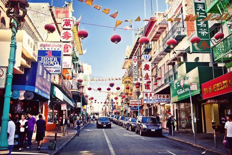 Chinatown em San Francisco imagem de stock