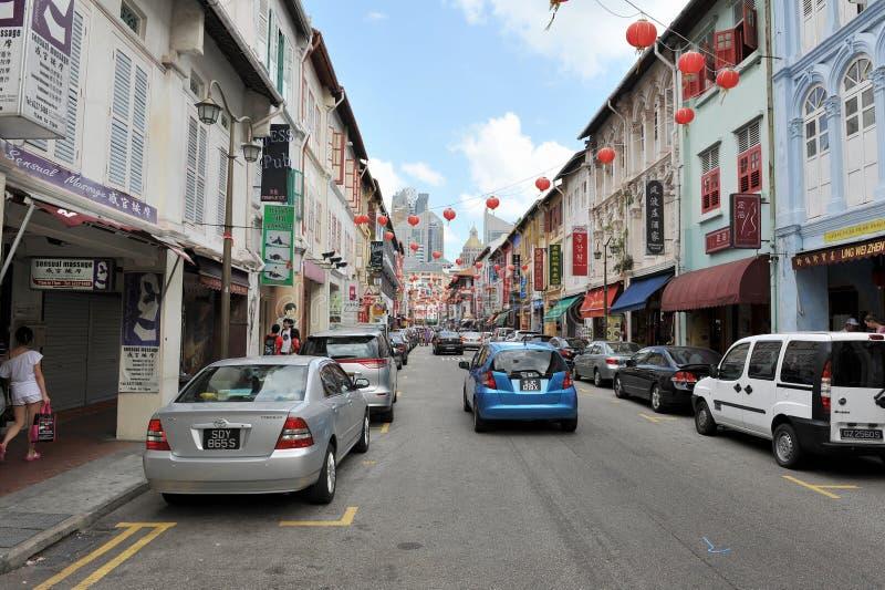 Chinatown Em Singapore Fotografia Editorial