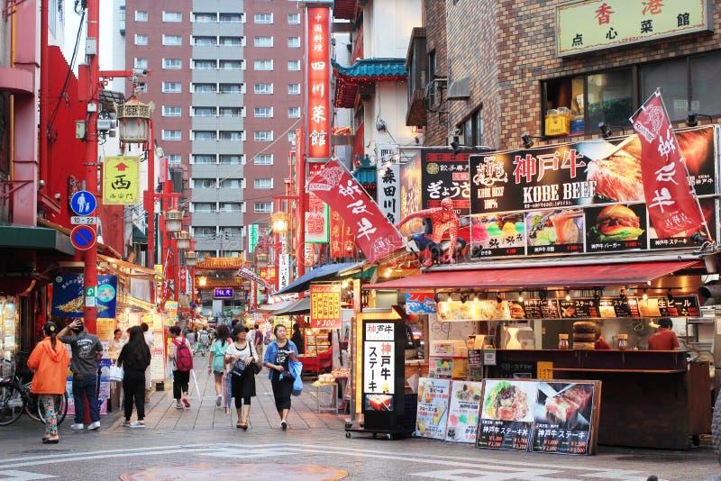 chinatown Kobe zdjęcie royalty free