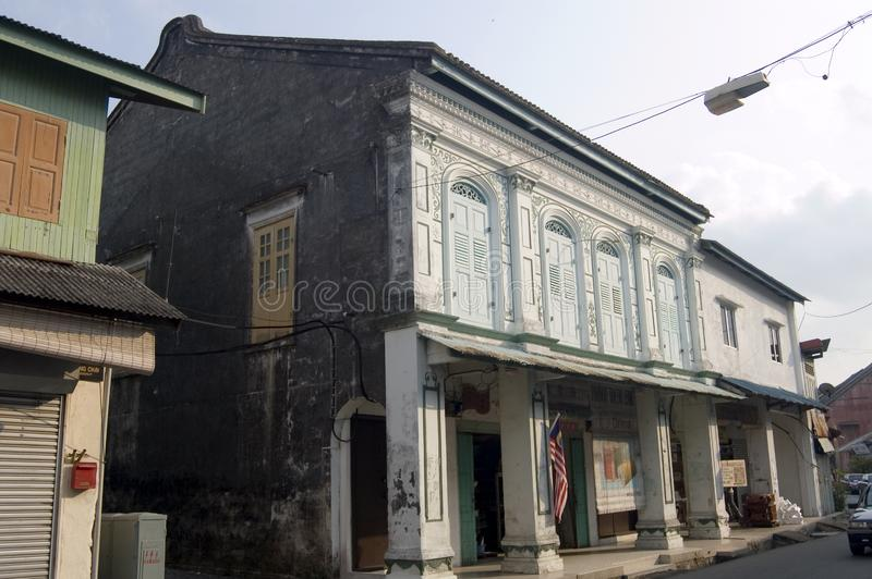 Chinatown, Kuala Terengganu immagine stock libera da diritti