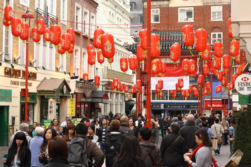 Download Chinatown in London editorial photography. Image of shopper - 19002552