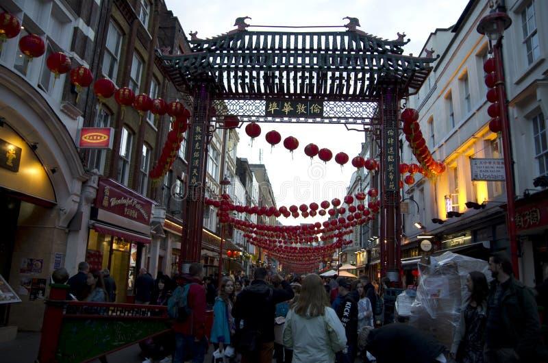 Chinatown London royalty free stock image