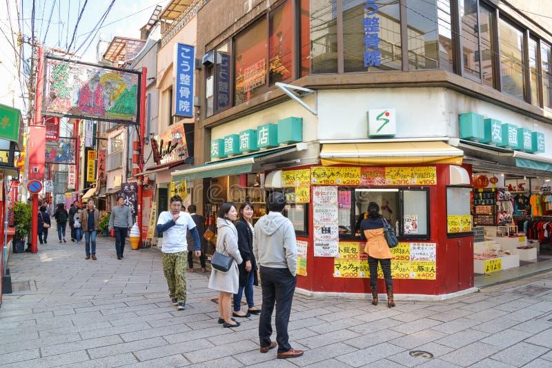 Chinatown, Nagasaki, Japón imagen de archivo libre de regalías
