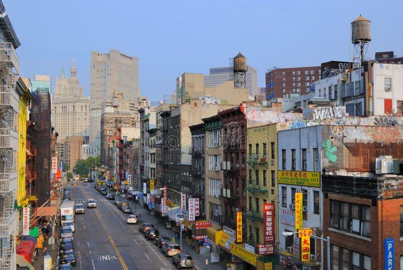 Chinatown New York City stock image