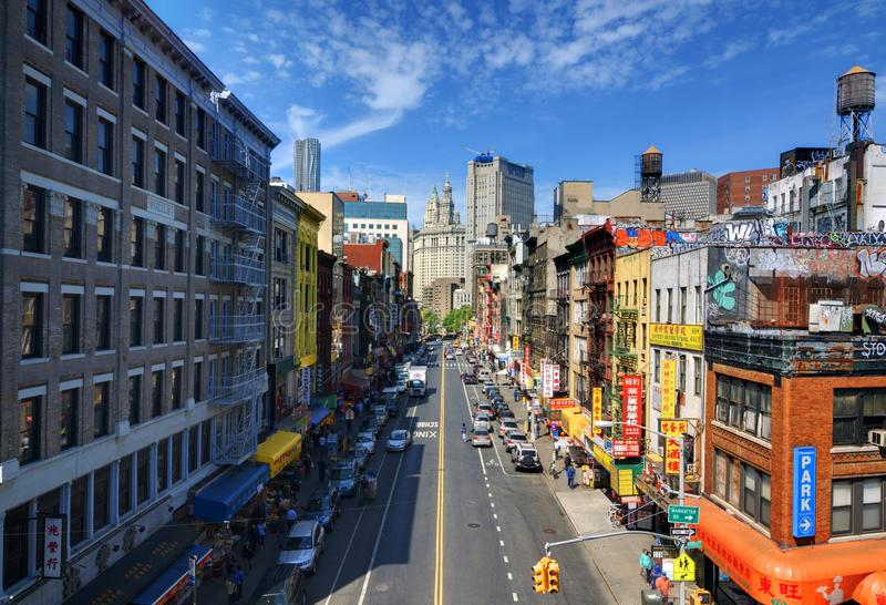 Chinatown NYC imagens de stock royalty free