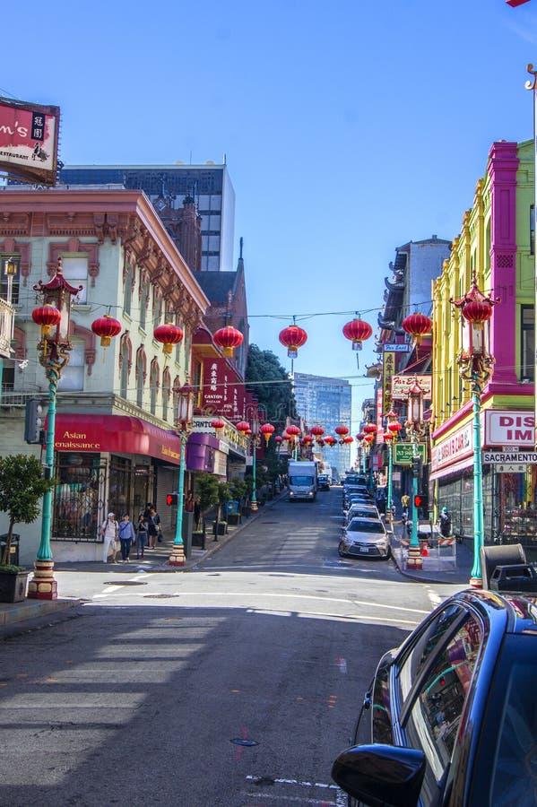 Chinatown, San Francisco imagens de stock