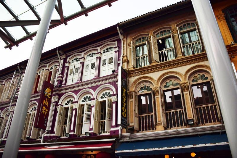 Chinatown SG stockfotos