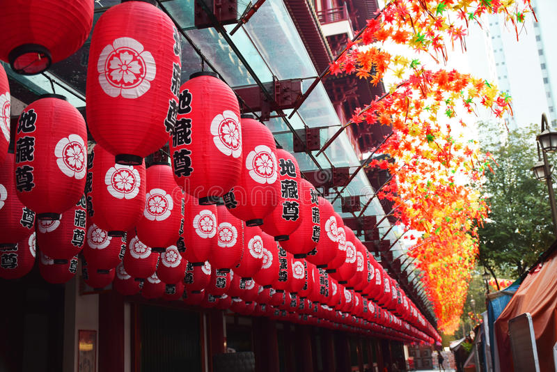 Chinatown SG lizenzfreie stockfotografie