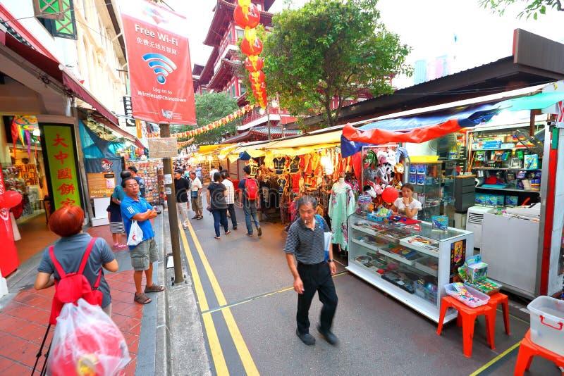 chinatown Singapore obraz royalty free
