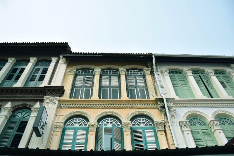Chinatown Singapore royalty-vrije stock foto's