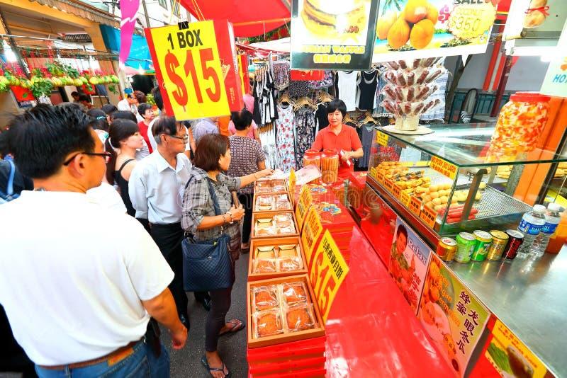 chinatown Singapore fotografia stock