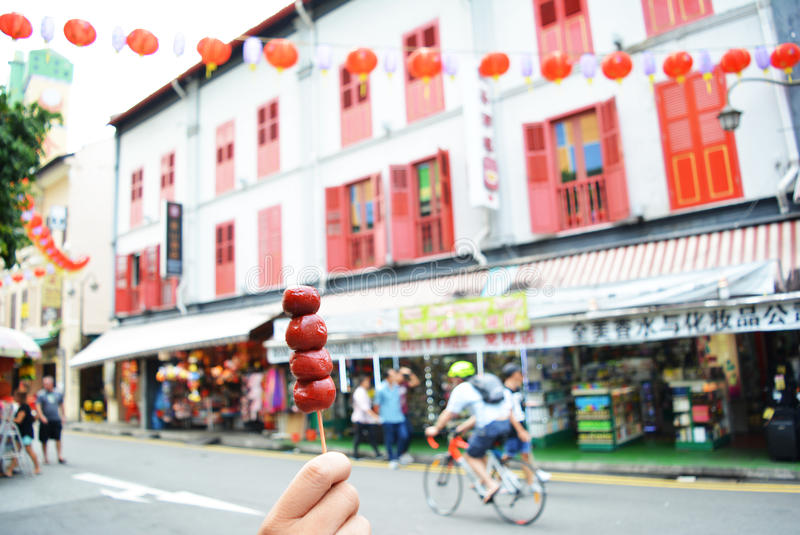 Chinatown, Singapore stock photos