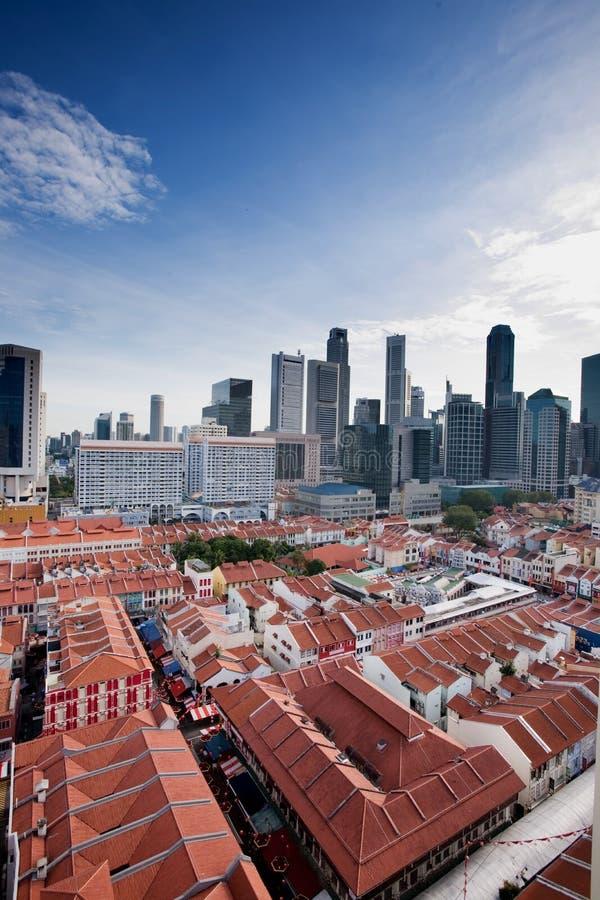 chinatown Singapour photo libre de droits