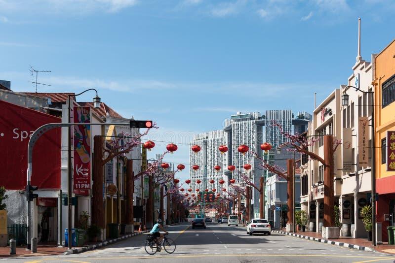 Chinatown Singapur stockfoto